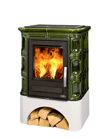 Tiled Fireplace Stoves